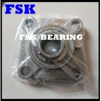 Flanged Type SSUCF205 Pillow Block Bearings Food Grade 304 / 316 / 440 Material