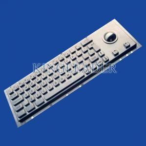 IP65 Industrial Cherry Key Switch Kiosk Keyboard With Rugged