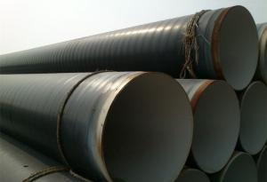 China 10#, 20#, 45# Outside 3LPE Coating And Inside FBE Coating Steel Pipe GB/T9711.1-2000 For Drainage Project on sale