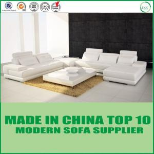 China New Design Modern Creative Genuine Leather Sectional Sofa Bed on sale