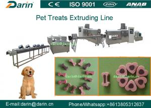 China Continuous and automatic Dog Food Extruder Dental Care Pet Chewing Toy Making Machine on sale