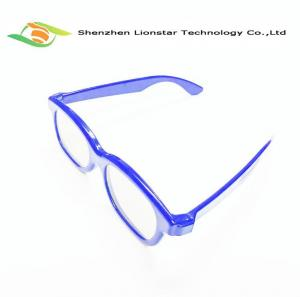 China Plastic Anaglyphic Active Linear Polarizer Film 3D Glasses 0.22-0.297mm Film Lens on sale