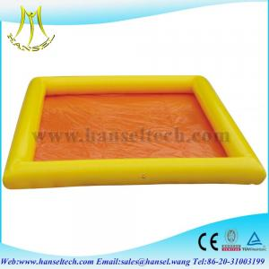 China Hansel PVC Tarpaulin Adult Inflatable Pool For Outdoor Activity on sale