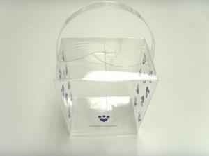 China PVC Box For Artificial Flower & Plant plastic folding box clear plastic boxes on sale