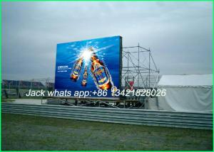 China High Resolution LED Advertising Displays P8 Full color for Commercial Showing on sale