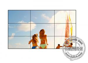 China Super Narrow Bezel LCD Video Wall 500cd / M2 Brightness 178 Viewing Angle Indoor on sale