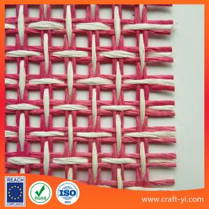 China paper woven mesh fabric in eco-friendly material supplier from china in different colors on sale