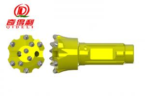 China CIR90 Series Thread Button Bit , Energy Saving Water Well Drill Bits on sale