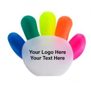 China Customized hand palm shape pen multi colored mini highlighter pen promotion pen on sale