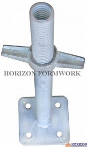 China Universal Scaffold Screw Jack , Base Jack And Head Jack By BS1139 Standard on sale
