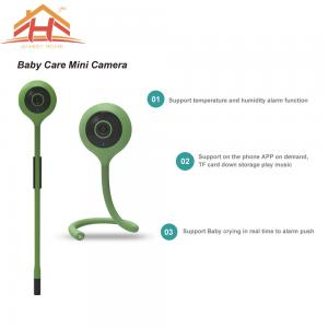China Two Way Audio Home Mini P2P IP Camera Baby Monitor and Music Song on sale