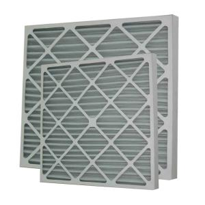 China High Capacity Pleated Panel Air Filters Portable Air Purifiers Filters For Home on sale
