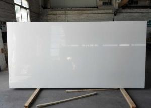 China K1000 White Quartz Kitchen Worktops / Marble Quartz Countertops Acid Resistant on sale