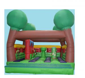 China Outdoor Or Indoor Tree Inflatable Bounce House Kids Playground Games on sale