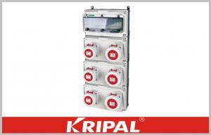 China White Plastic Electrical Distribution Box Weatherproof Socket Box IP67 on sale