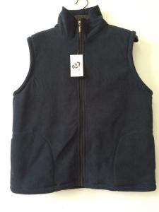China winter vest,  warm waist coat, navy, S-3XL, polar fleece with sherpa lining on sale