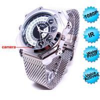 China 音声起動型の録音が付いているFS-WC007-AC HD1080P Nightvisionの腕時計のカメラ on sale