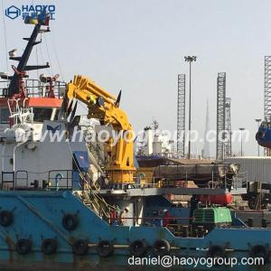 China Full specifications can be customized folding arm crane marine crane ship deck crane for sale on sale