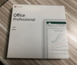 China Office 2019 Pro Plus DVD Package Microsoft Office Retail Product Key supplier