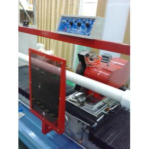 China CNC Half Broken / Full Broken Rotary Slitting Machine For Tempered Glass AB Glue on sale