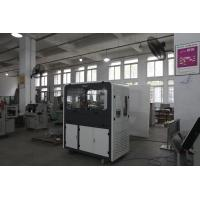 Plastic PVC 3-up Keytags PVC Card Cutting Machines Water Cooling Productivity 10000 Cards / Hour