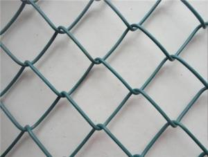 China Low Carbon Steel Chain Link Mesh Beautiful Appearance For Protective Screening on sale