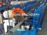 Downspout Pipe Roll Forming Machine PLC Control And Hydraulic Station
