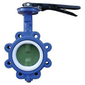 China EPDM Seated Manual Lug Butterfly Valves Wafer Type For Ship Building / Textile,cast iron,cast steel on sale