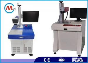 China Portable 20w Metal Fiber Laser Marking Engraving Machine With MAX Laser Source on sale