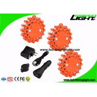 Magnetic Mount Led Warning Light Rechargeable Shockproof LED Road Flares for Car