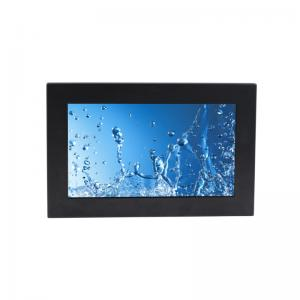 China IP65 Panel Rugged Industrial PC Computers Waterproof Connector 15.6 IR Touch Screen on sale