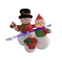 China 1.2M Inflatable Snowmen Family on sale