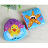 Marine Life Reading Toys Soft EVA Infant Bath Book Early Learning Bath Book Toys