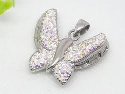 China OEM Children, Men 925 sterling silver jewelry shiny polished Custom CZ Pendants on sale
