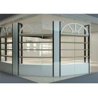 Nordic Design Cosmetic Display Cabinet And Showcase For Luxury Skin Care Shop