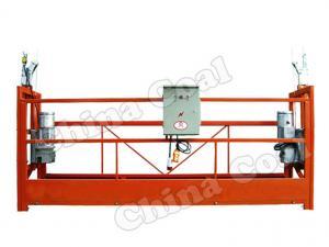 China ZLP630 Mast climbing work platform/ hanging platform/wire rope suspended platform on sale