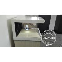 Optical Acrylic 19 Inch - 55 Inch Hologram Advertising Display , 3d Hologram Screen