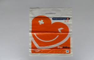 China Soft PVC Patch Handle Bags Stand Up Pouch for Advertisement on sale