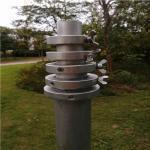 6063 Alu Sectional Telescoping Aluminum Antenna Mast Hand Push Up Light Weight Mast