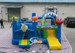 Sealife Inflatable Combo Bouncy Castle With Slide For Kids Inflatable Playground Party Time