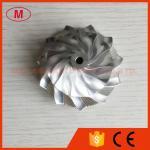 GT15-25 50.00/68.01mm 11+0blades high performance point milling turbo billet/milling/aluminum 2618 compressor wheel