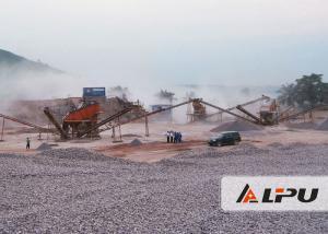 China Hard And Soft Stone Crushing Production Line for Granite Quartz Limestone Gypsum on sale