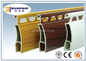 China White Color Painting Roller Shutter Door Aluminium Profiles on sale
