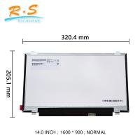 "14"" TFT lcd Panel B140RTN02.3  for laptop replacement 1600*900 EDP 30PIN"