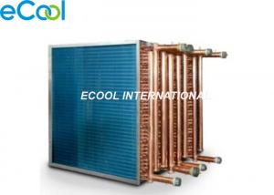 China Custom Air Cooled Cooling Coil /  Condenser Or Evaporator Parts Fin And Tube Evaporator on sale