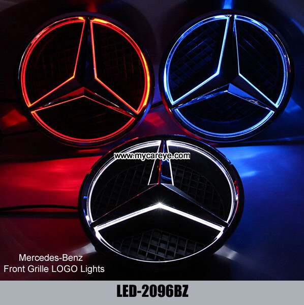 lampe d 39 embl me de d calque d 39 insigne de lumi re de mercedes benz cla200 cla250 cla260 led en. Black Bedroom Furniture Sets. Home Design Ideas