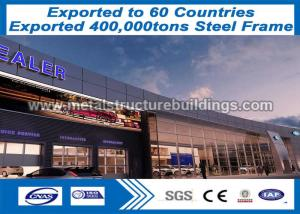 China Light Weight Steel Frame Structure France BV Certified Environmental Protection on sale
