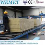 Pure Rock wool joint fire proof high density insulated wall panel