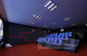 China 4D Movie theater with 4DX ultimate motion effect , 4D cinema special effect , 4d theater locations on sale