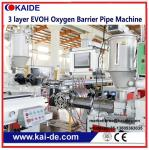 PERT/EVOH oxygen barrier pipe production line 3 layer EVOH pipe extrusion machine Supplier